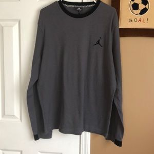 Men's Jordan long sleeve thermal shirt sz 2x